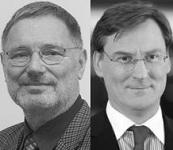 Rainer Imhof (VuV)  und Wolfgang Köbler (KSW Vermögensverwaltung)